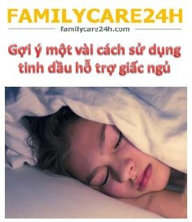 Một vài cách dùng tinh dầu hỗ trợ giấc ngủ