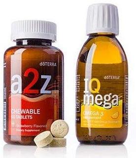 Cung Cấp Vitamin & Khoáng Chất - Phát Triển Trí Não (a2z Chewable™ and IQ Mega® Pack )