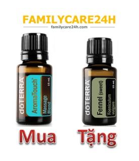 MUA Tinh dầu Massage AromaTouch TẶNG Tinh dầu Thì là Fennel