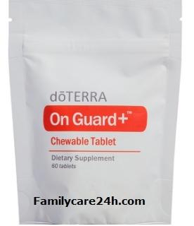 Viên nén nhai hỗ trợ hệ miễn dịch doTERRA On Guard chewable Tablets